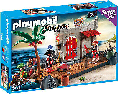 Playmobil - Pirates - 6146 - Superset Piratenfestung - NEU OVP