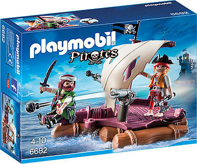 Playmobil - Pirates - 6682 - Piratenfloß - NEU OVP
