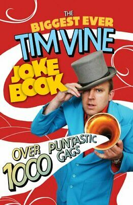 The Biggest Ever Tim Vine Joke Book by Vine, Tim Paperback Book The Cheap Fast