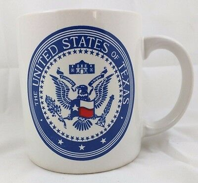 The United States of Texas Coffee Mug Cup Republic of Texas Lone Star State
