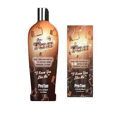 Pro Tan Irresistibly Tan Sunbed Tanning Lotion Ultra Dark Tan Accelerator