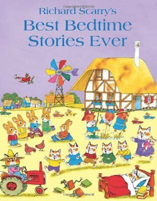 Best Bedtime Stories Ever, Scarry, Richard Paperback Book The Cheap Fast Free