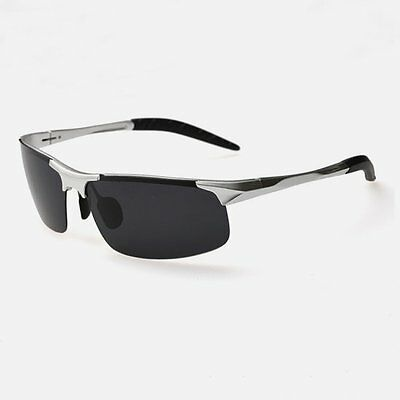Aluminum Magnesium Alloy Frame Polarized Sunglasses Men's Driver Sun Glasses