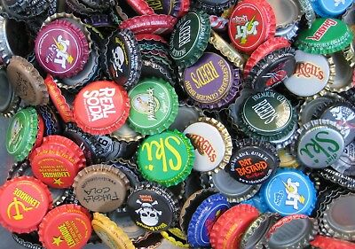 """""""90"""" Soda Bottle Crown Caps.""""Uncrimped""""  Listing in Soda/Beer category"""