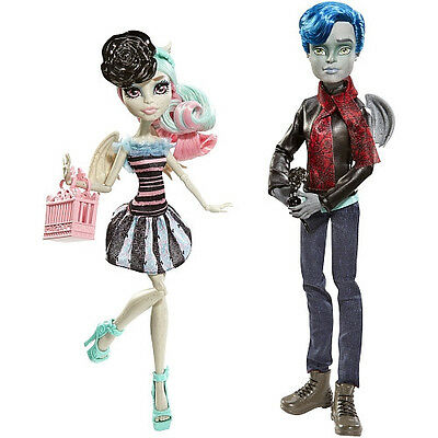 Monster High 2-er Pack Garrot du Roque & Rochelle Goyle Serie Love in Scaris