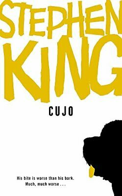 Cujo, King, Stephen Paperback Book The Cheap Fast Free Post