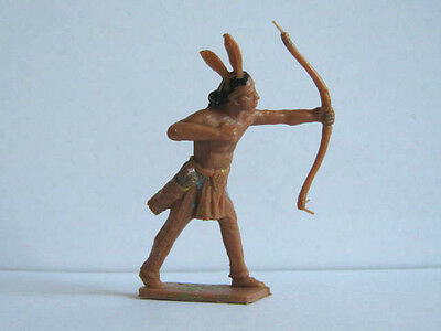 1 x CHERILEA.  WILD WEST INDIAN. 1960's PLASTIC TOY SOLDIER  ...