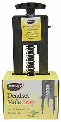 Sweeney's 9015 Deadset Precision Mole Trap Easiest trap on the market to set NEW