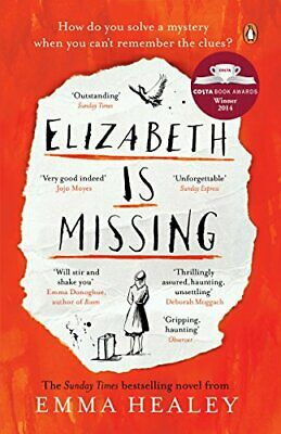 Elizabeth is Missing by Healey, Emma Book The Cheap Fast Free Post