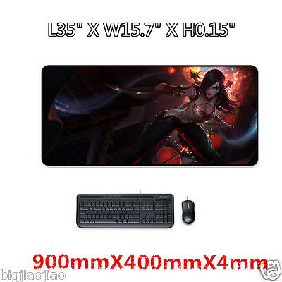League of Legends  LOL Katarina Originality Gaming Large Mouse Pad