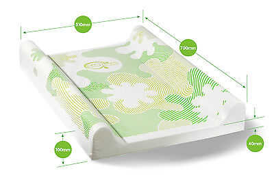 BabyDam Baby Changing Mat Luxury Padded Base With Anti Roll 70x51cm