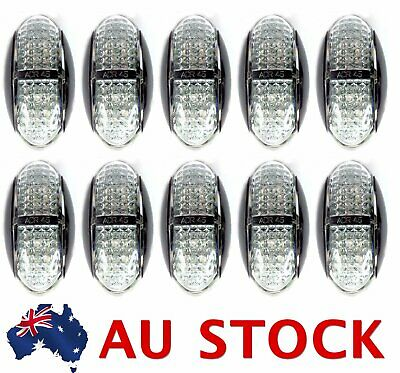 10X Red Amber Side LED Marker Tail Light Lamp Clearance Trailer ADR AU Stock