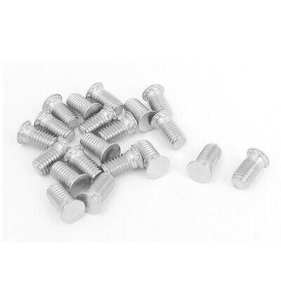 M5x10mm Flush Head Stainless Steel Self Clinching Threaded Studs Fastener 20pcs