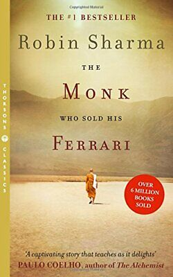 The Monk Who Sold his Ferrari, Sharma, Robin Paperback Book The Cheap Fast Free