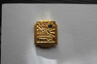 Lions Club Pin 1973-74 I believe the shape is Japan