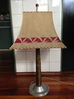 Amazing Nude Pin-Up WW2 Trench Art Large Mortar Shell Lamp