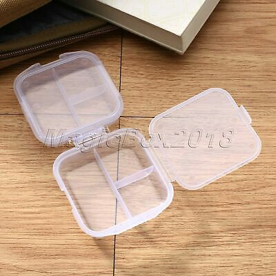 Mini Portable Travel Double Layer Medicine Pill Holders Drug Box Storage Case