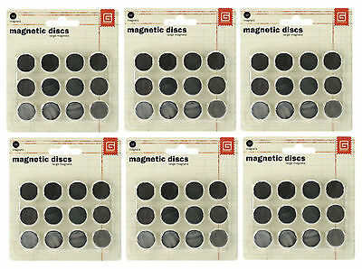 Basic Grey Six Packages LG Magnetic Snaps SUPER STRONG & Thin 36 pair Bundle