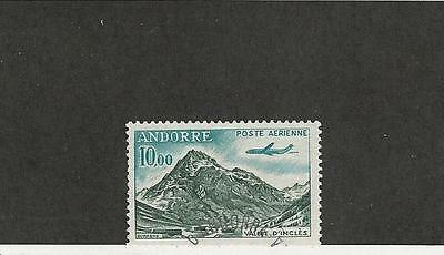 Andorra, French Colony, Postage Stamp, #C8 Used, 1961