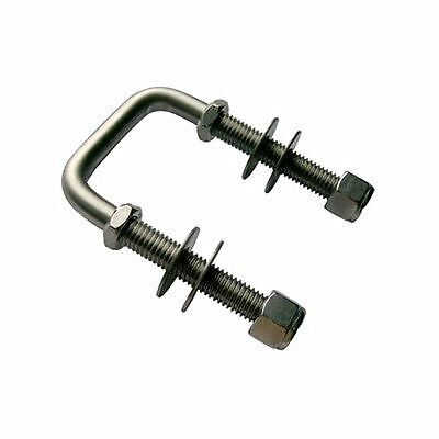 Fishing Boat or Sailboat Trailer 3//8 x 3-1//2 x 6 Replacement Parts and Accessories for your Ski Boat CE Smith Trailer 11416 2 Straight /& 2 Formed Square U-bolt