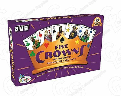 Five Crowns family card game  The original Game Holidays Fun Family