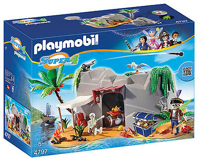Playmobil - Super 4 - 4797 - Piraten-Höhle - NEU OVP