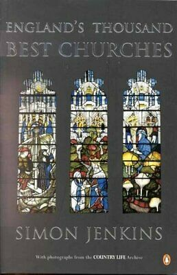 England's Thousand Best Churches by Jenkins, Simon Paperback Book The Cheap Fast