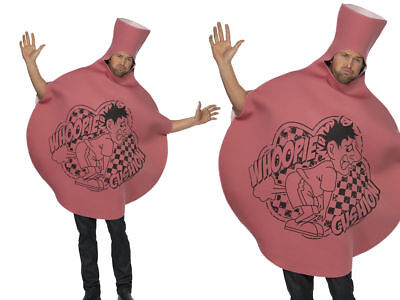 Adult Whoopie Whoopee Cushion 70s 80s Fancy Dress Costume Stag Do Outfit OS