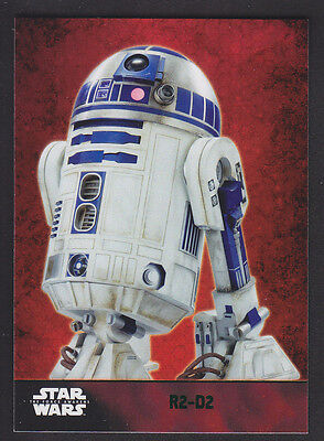 Topps Star Wars - The Force Awakens - Green Parallel Card # 43 R2-D2