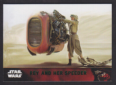 Topps Star Wars - The Force Awakens - Green Parallel Card # 70