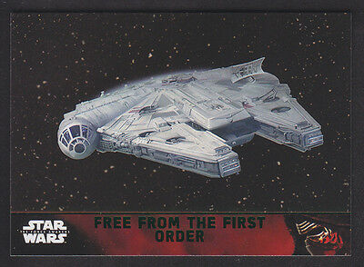 Topps Star Wars - The Force Awakens - Green Parallel Card # 96