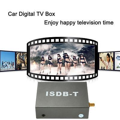 portable Car Mini TV Box ISDB-T Analog Signal Receiver TV fr Car DVD Player M6Y7