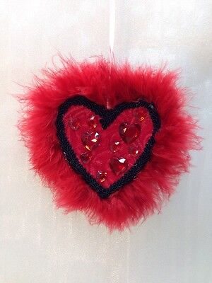 Valentines Day Heart Handcrafted Handmade Heart-shaped Hanging Gift