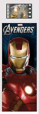 THE AVENGERS Marvel Comics Iron Man 2012 MOVIE FILM CELL and PHOTO BOOKMARK New