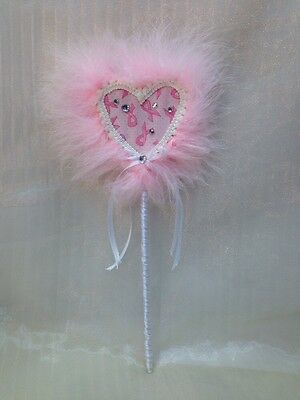 Heart Handcrafted Handmade Heart-shaped Wand Gift for Her Cancer Survivor USA