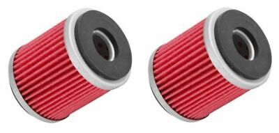 TWO (2) OIL FILTERS YAMAHA WR450F 2012 to 16 WR450F ADR 2014-15 YZ450F 2014-2016