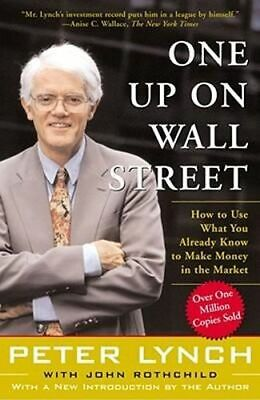 NEW One Up On Wall Street By Peter Lynch Paperback Free Shipping