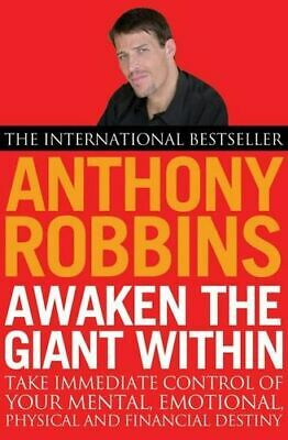NEW Awaken The Giant Within By Tony Robbins Paperback Free Shipping