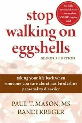 NEW Stop Walking On Eggshells (2nd Edition) By Paul T. Mason Paperback