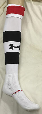Under Armour Rugby/Football Socks Red/White/Black (UAS248/9)