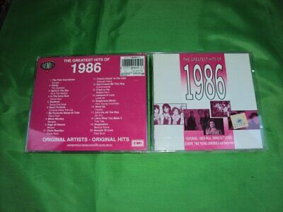 Various : Greatest Hits of 1986 CD Value Guaranteed from eBay's biggest seller!
