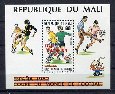 s5756) MALI 1982 MNH** World Cup Football - CM Calcio S/S winners