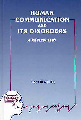 Human Communication and Its Disorders: v. 1 by Winitz