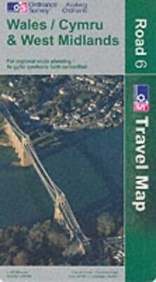 Wales and West Midlands (Road Map) by Ordnance Survey Sheet map, folded Book The