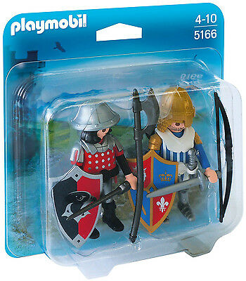 Playmobil - Knights - 5166 - Duo Pack Ritter - NEU OVP