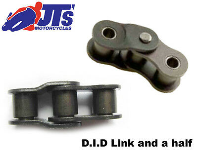 530 (50) Did Link And A Half - Motorcycle Drive Chain -Joining Link - Split Link