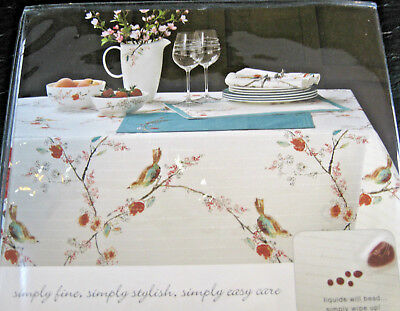 Lenox Simply Fine Spill Proof Easy Care Table Linen Chirp Asst. Sizes Obl & Rd
