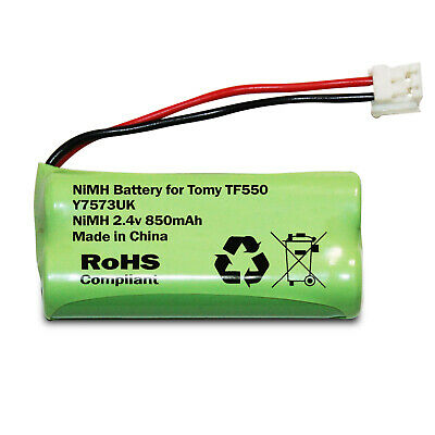 TOMY TF550 BABY MONITOR RECHARGEABLE BATTERY PACK 2.4v 850mAh