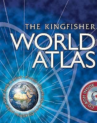 World Atlas (with CD) by Philip Wilkinson