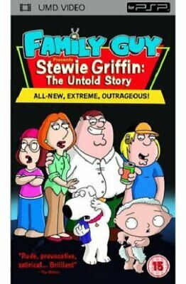 Family Guy - Stewie Griffin: The Untold Story  DVD UMD Mini for PSP